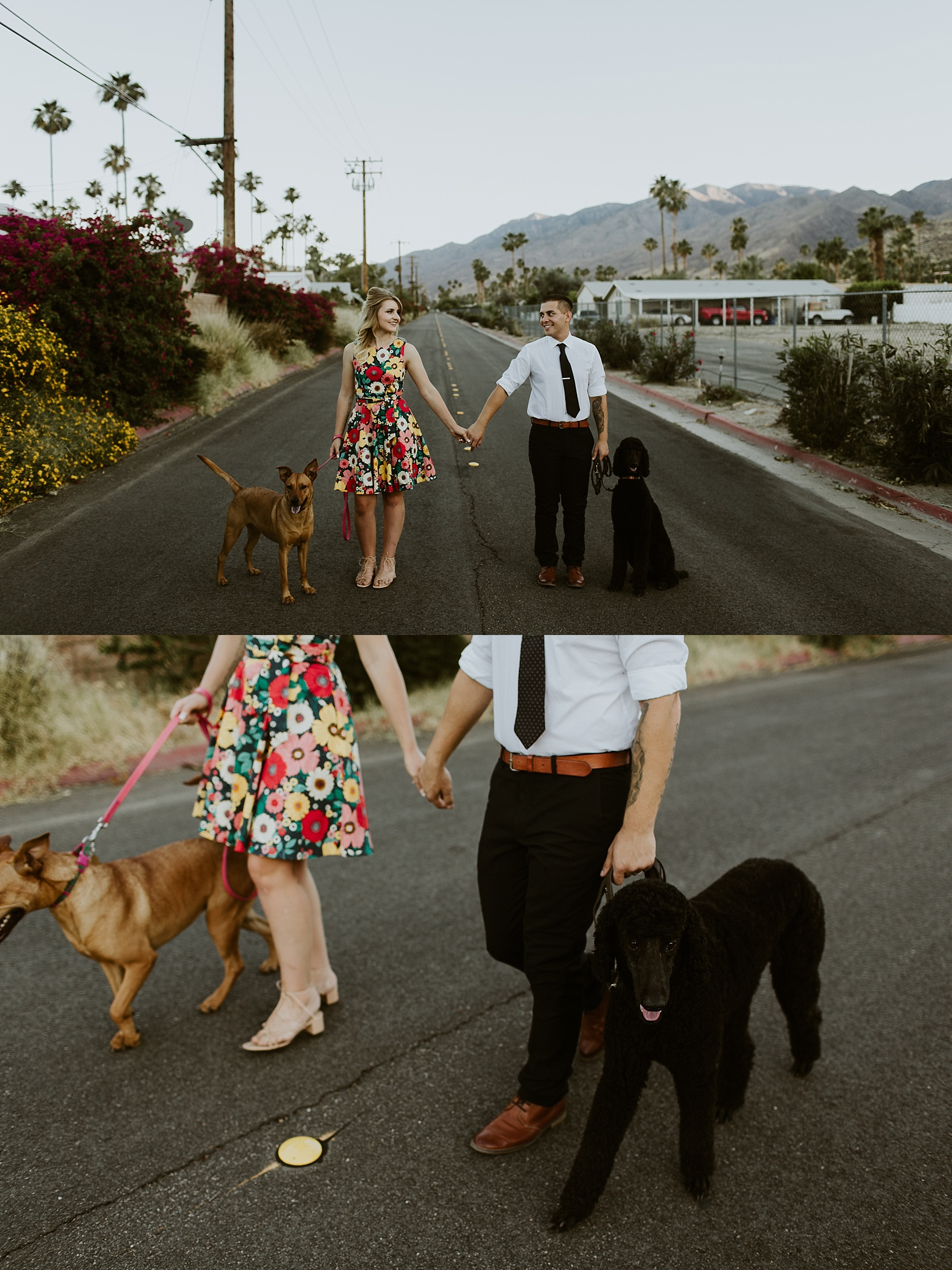 palm springs anniversary shoot